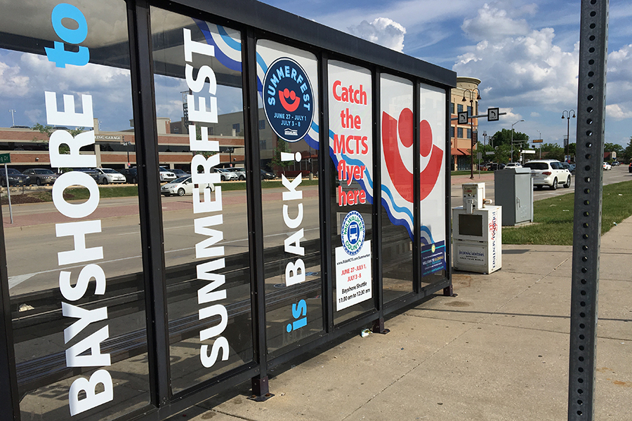 summerfest bus stop