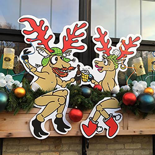 lakefront brewery reindeer