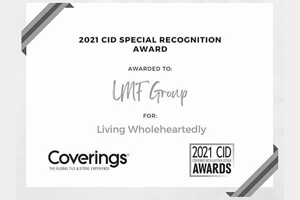coverings award